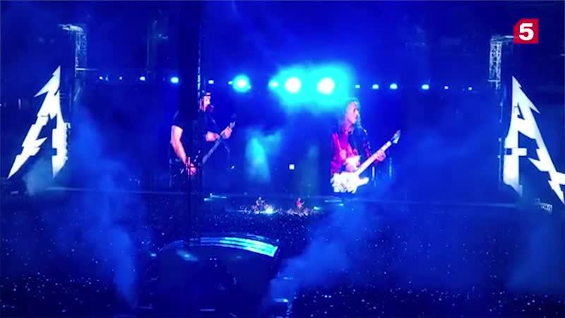 Группа Metallica исполнила песню Виктора Цоя «Группа крови»