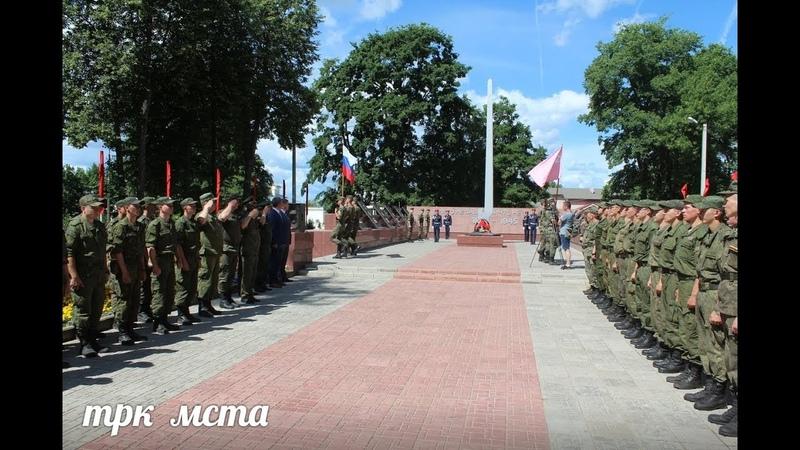Церемония передачи Гербовой печати военного прокурора 2 й ударной Армии