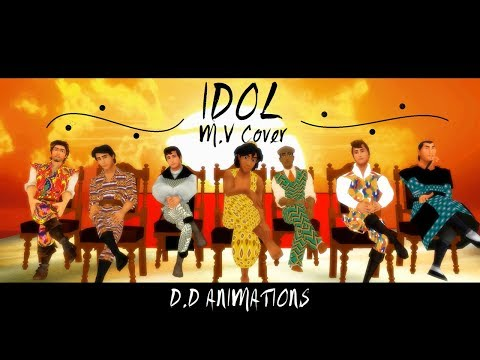 IDOL M.V Cover - Disney Cast