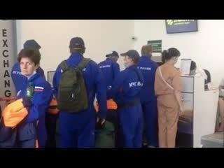 ИЛ-76 МЧС России отправился в Бейрут для оказания помощи пострадавшим