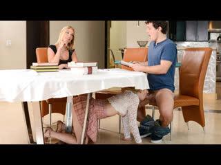 Abby Adams, Rachael Cavalli – My Stepmom Ruined The Study Session [RealityKings. Incest, Threesome]