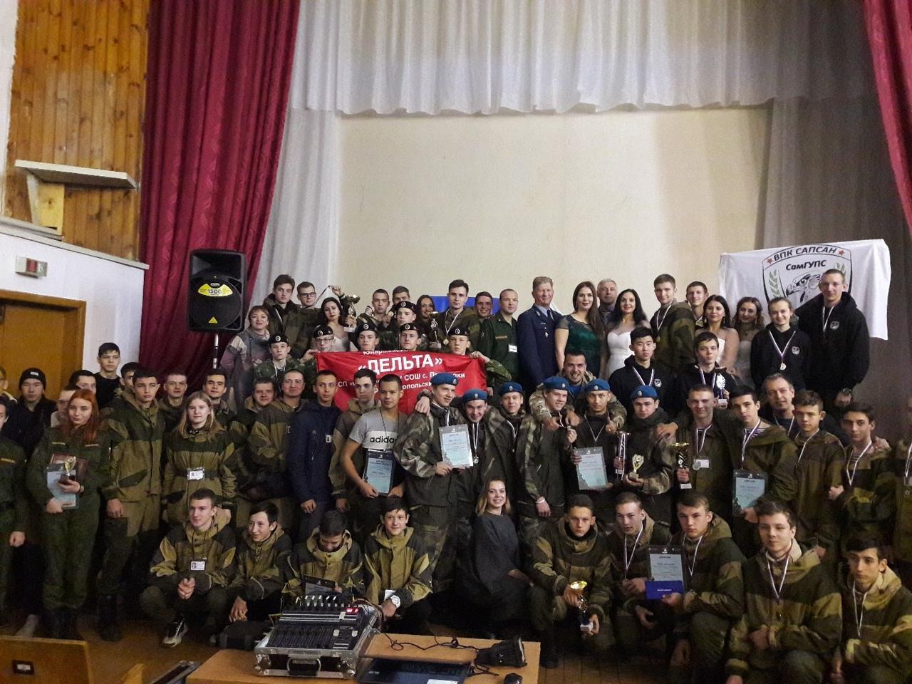 Курсанты команды военно-патриотического клуба