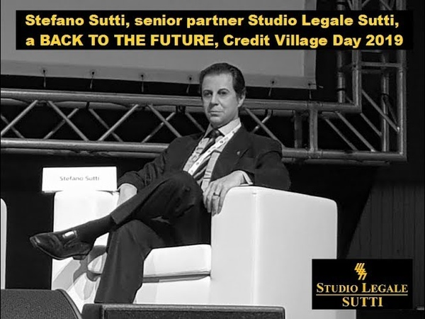 Stefano Sutti a Back to the Future, Credit Village Day, Milano 20-11-2019