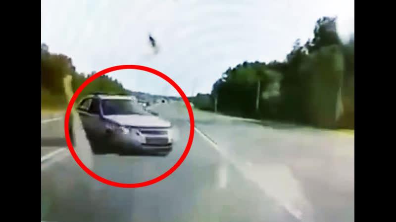 Авария с участием патрульной машины ДПС