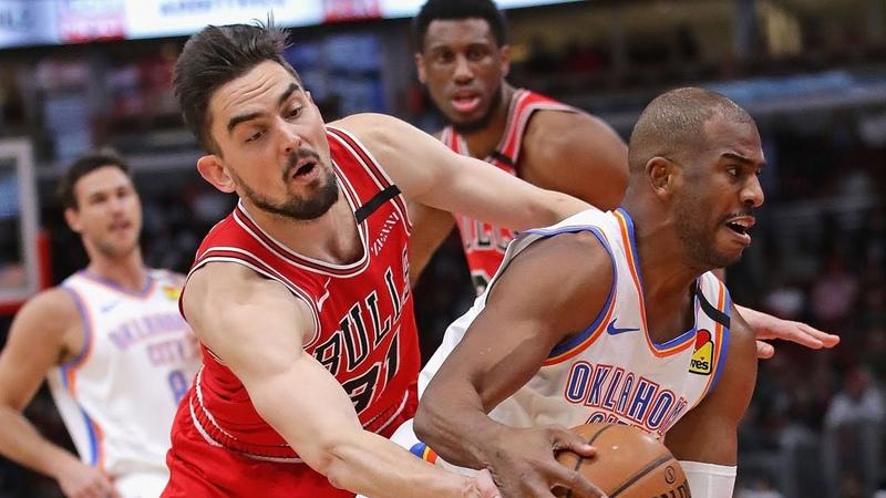 Oklahoma City Thunder vs Chicago Bulls Full Game Highlights | February 25, 2019-20 NBA Season