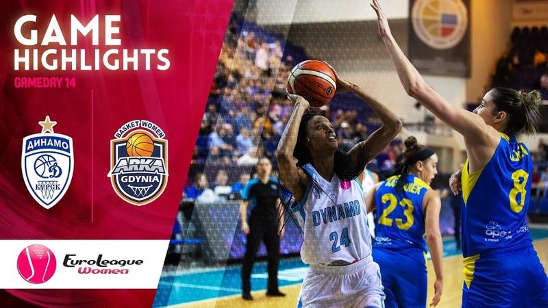Dynamo Kursk v Arka Gdynia Highlights EuroLeague Women 2019 20