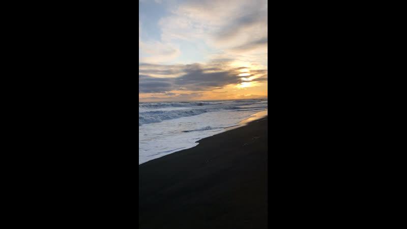 Прибой на Тихом Океане