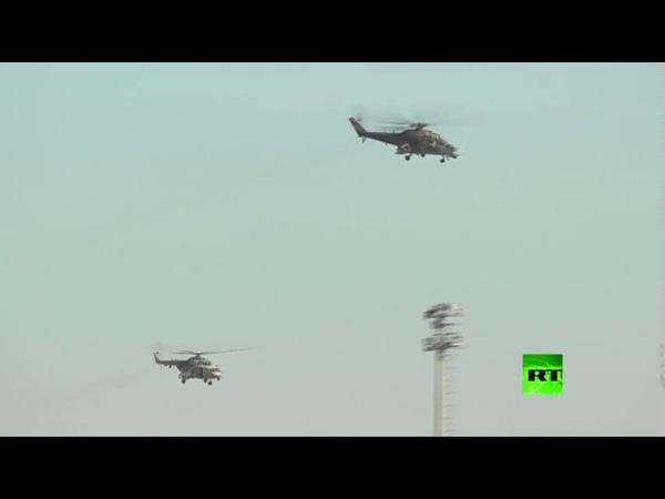الطيران الروسي يبدأ المناوبة شمال شرقي سوريا لدعم دوريات المراقبة