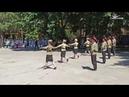 В Самаре во дворе военного госпиталя казаки устроили концерт