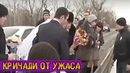 Невеста бросила букет в реку. Через секунду гости кричали от ужаса, увидев