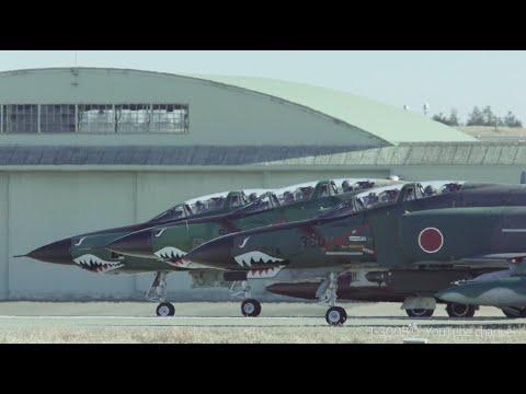 2020 New Year First ENGINE RUN-UP and FLIGHT ・ RF-4 , F-4 Phantoms - ASMR