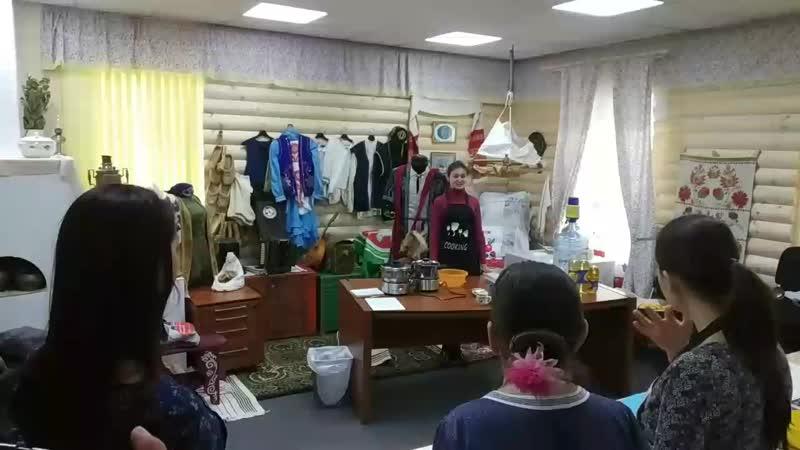 Мастер класс по Чак чаку в Санкт Петербурге Музей татарской культуры
