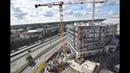 Construction du siège régional d'Orange - Villeneuve-d'Ascq (59) - Time-lapse