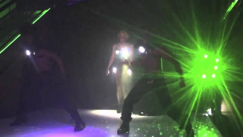 Sasha Gradiva performing 2012