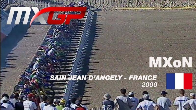 FIM Motocross des Nations History Ep 4 MXdN 2000 France SAINT JEAN D'ANGELY Motocross