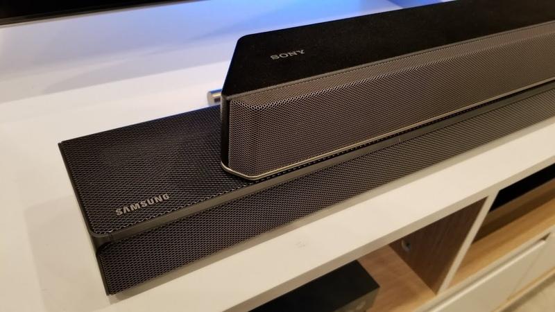 Sony HTX 9000F vs Samsung HW N650 Battle of Soundbars