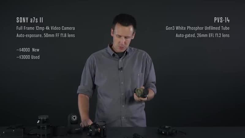 Как работает ПНВ и камеры ночного видения