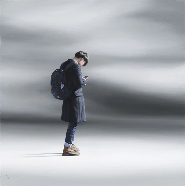 Работы художника из Великобритании Найджела Кокса (Nigel Cox . Он один из немногих современных живописцев, который не понаслышке знаком с одиночеством и долгими месяцами обособленности,