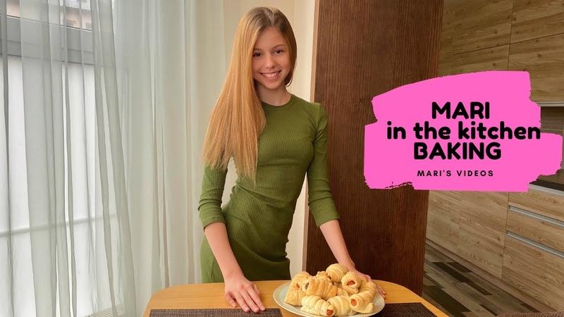 Сосиска в тесте в духовке Mari in the kitchen