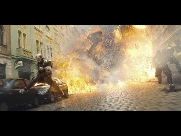 Бросок Кобры 2009 Погоня в Париже Момент из фильма