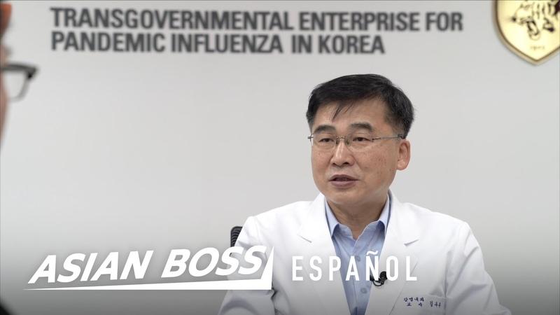 Tienen que escuchar a este experto de COVID 19 de Corea del Sur Asian Boss Español