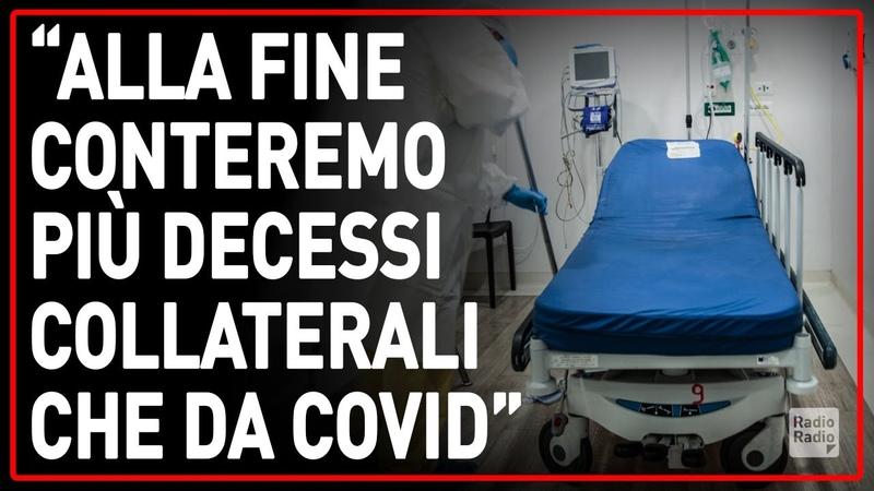 TRIPLICATI DECESSI DA INFARTO TRA 2019 E 2020 ► Ormai in ospedale se non sei Covid non entri...
