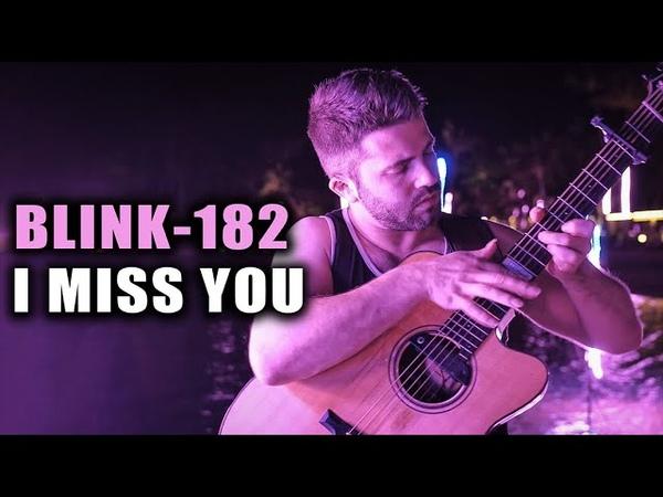 I MISS YOU BLINK182 Luca Stricagnoli Fingerstyle Guitar