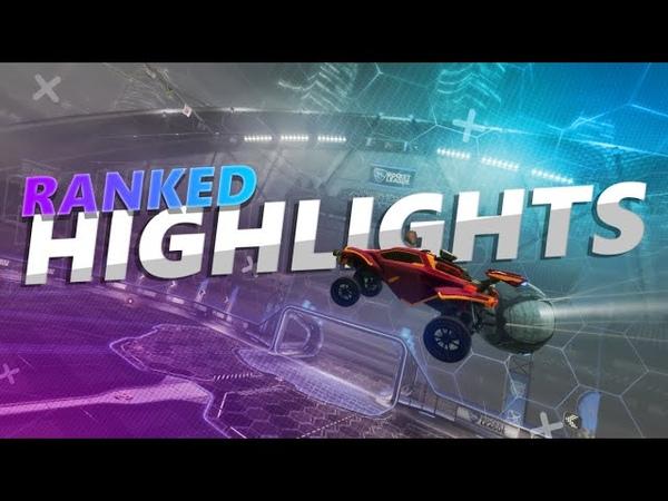 Лучшие моменты и фейлы из ранкеда! | Hightlights! | Rocket League