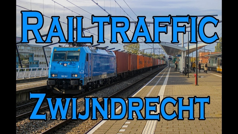 Railtraffic in Zwijndrecht Redirected freights and Thalys trains