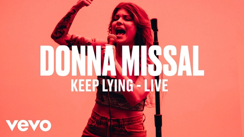 Donna Missal - Keep Lying (Live) | Vevo DSCVR