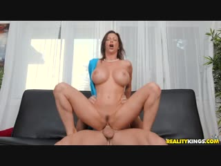 Alexis Fawx - Garden MILF All Sex, Hardcore, Blowjob, Big Tits