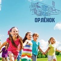 """Логотип Летний лагерь дневного пребывания """"Орленок"""""""