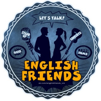 Логотип English Friends - Английский разговорный клуб