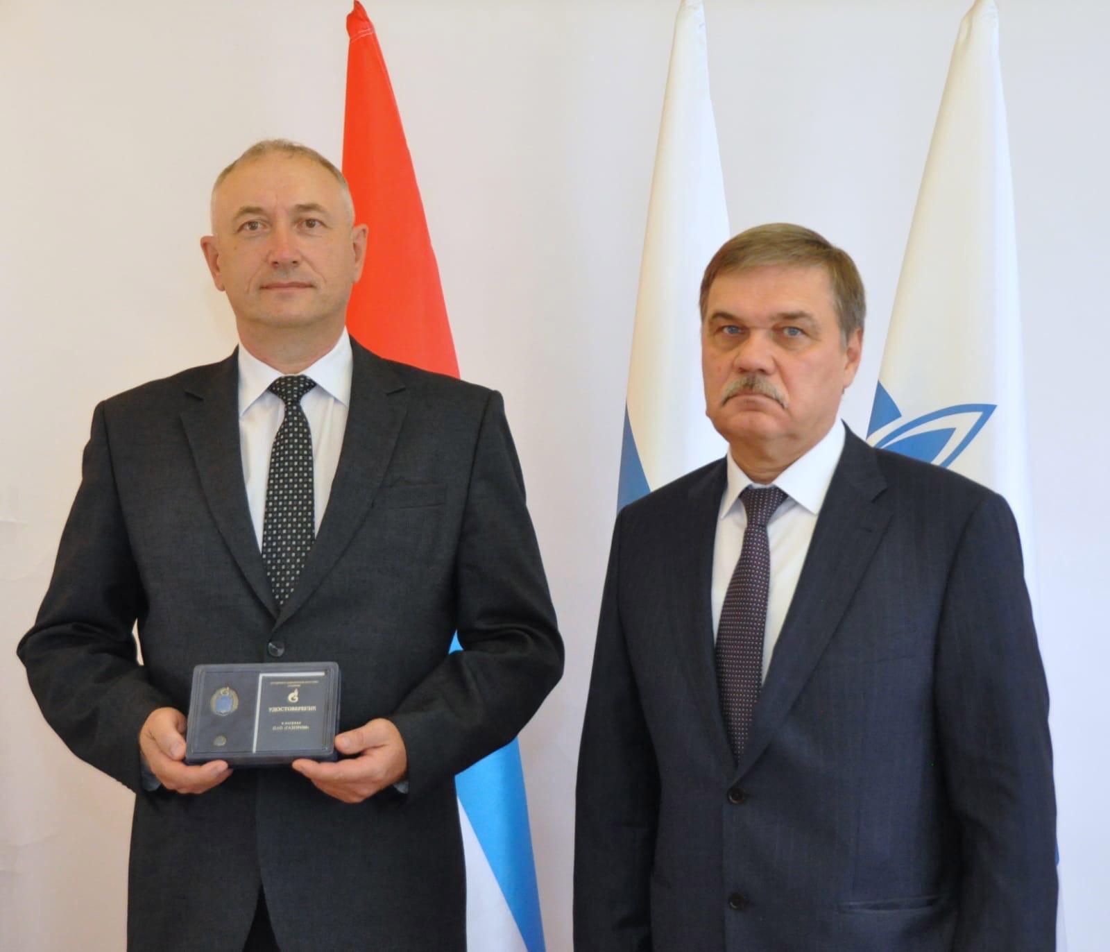 Можгинец Михаил Сентябов — «Почетный работник ПАО