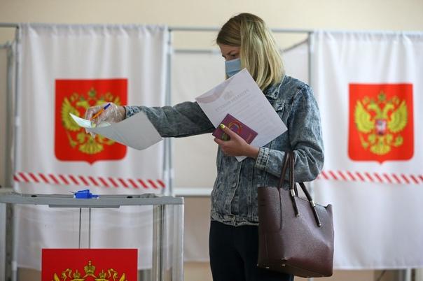По данным избиркома итоговая явка на выборах в обл...