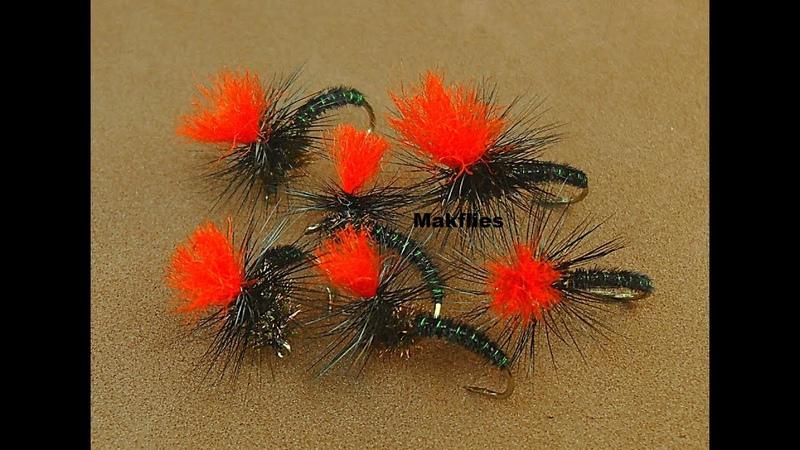 Fly Tying a Black Pheasant Tail Klinkhammer by Mak