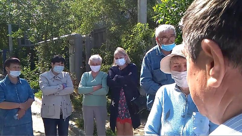 Астраханцы с Фунтовского шоссе,23а, просят передать инженерные сети в собственность г. Астрахани