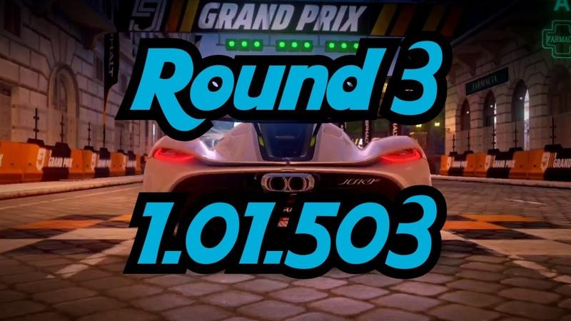 Grand Prix Finals Round 3 Pantheon Split Koenigsegg Jesko 2☆ 1 01 503 Asphalt 9