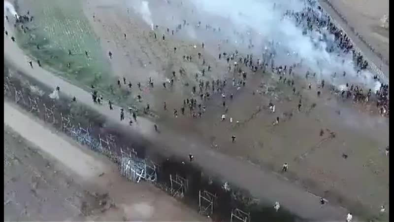 Krieg der Welten Z Nein die griechisch türkische Grenze stammt von einer Drohne