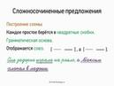 Сложносочиненные предложения (5 класс, видеоурок-презентация)