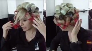 How To Use Velcro Rollers In your own Hair at home step by step 2020 | hair rollers | curly | style