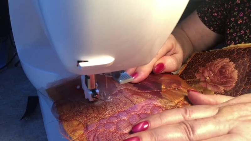 Пицца, как я тебя люблю! Стежка. Вышивка. Арт текстиль. Арт квилт. Pizza / art textile / art quilt