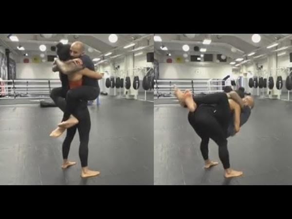Lift and carry Amazing exercises Madelinn Fernandez