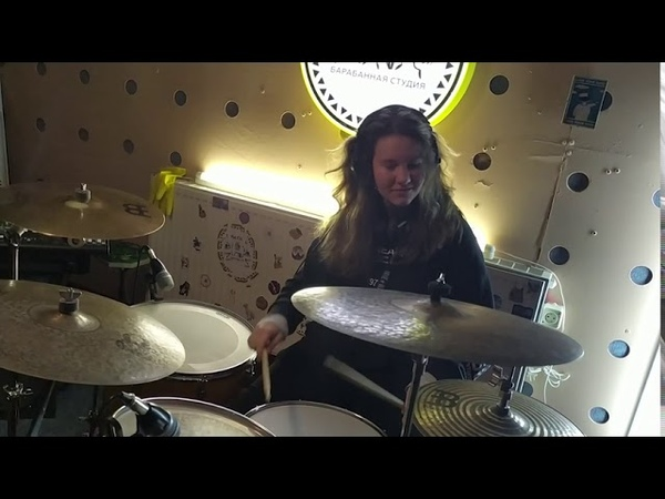 Sam Tinnesz feat Yacht Money Play with fire drumcover by Olya Crazy Wolf
