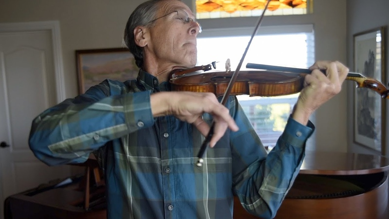 2 Fingered violinist Clayton Haslop plays The Tchaikovsky Violin Concerto.