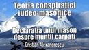 Declaratia Unui Mason De Grad 33 Despre Muntii Carpati Teoria Conspirației-Iudeo Masonice