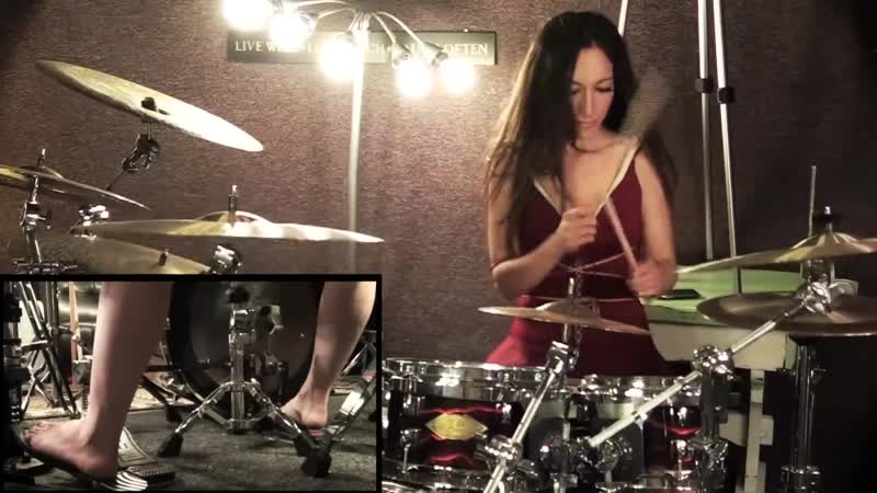 METALLICA SAD BUT TRUE DRUM COVER BY MEYTAL COHEN
