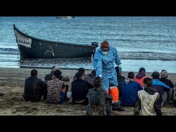 Канары крупнейший миграционный кризис за полтора десятка лет…