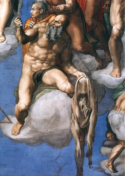 «Страшный суд», Микеланджело Буонарроти