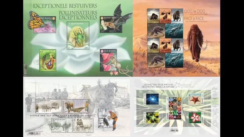 Обзор на распаковку марок с eBay - из Бельгии (Почтовые марки Бельгии) 05.08.2020 г.